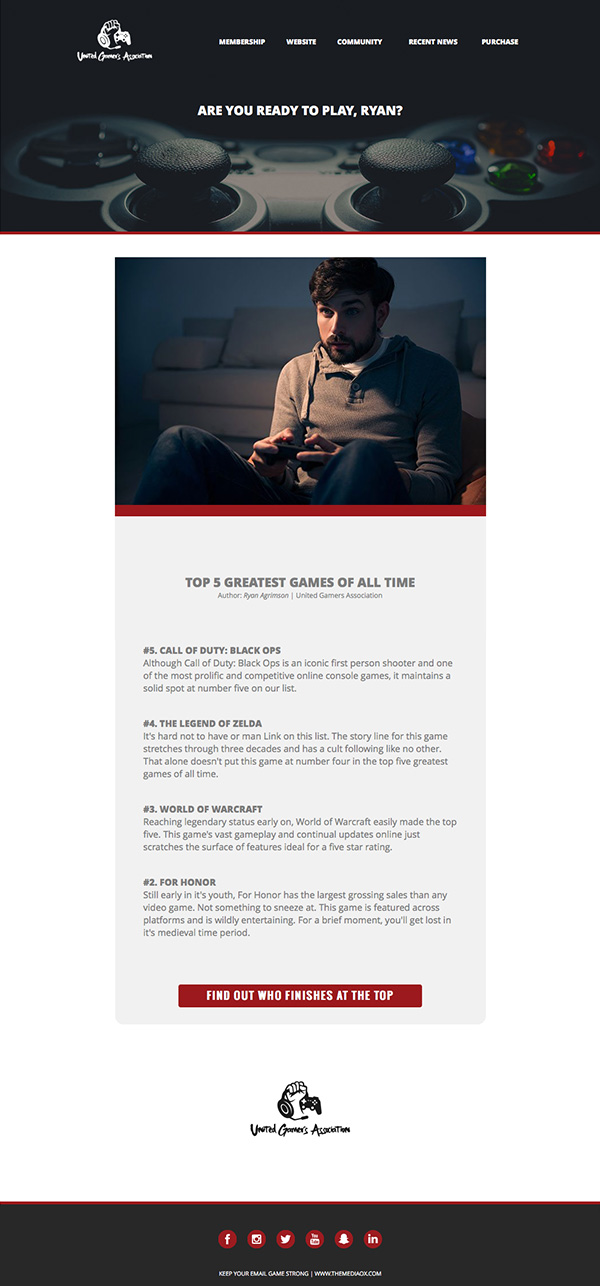 Create Simple HTML Email From Scratch Ox Media And Design - Build html email template